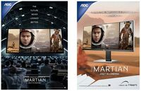 """Die Displays der Zukunft: AOC offizieller Monitor-Partner für den Film """"Der Marsianer - Rettet Mark Watney"""""""