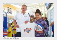 """Prominente Gäste bei """"kinder+Sport"""" auf der Expo 2015"""