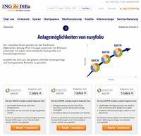 showimage Einfache Geldanlage: ING-DiBa kooperiert mit easyfolio