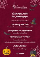 Gruseliges Halloween Menü im Frankfurter Restaurant Maximilian