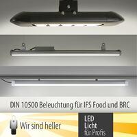 LED Beleuchtung nach DIN 10500 für IFS Food und BRC zertifizierte Betriebe