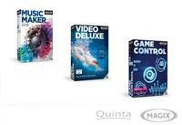 Neue 2016-Versionen und Game Control von MAGIX bei Quinta