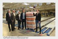 Refresco eröffnet vollautomatisiertes Lager in Grünsfeld