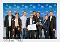 Auszeichnung auf dem TUM Entrepreneurship Day