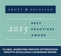 BrandMaker erhält Frost & Sullivan Award 2015 im Bereich Marketing-Prozessoptimierung