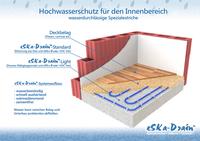 Hochwasserschutz für Estriche - Baustellenreport