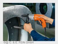 Pressemitteilung FEIN: Neuer Elektro-Gewindebohrer mit Wendegetriebe