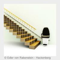 Treppen bequem im Sitzlift überwinden (Stuttgart)