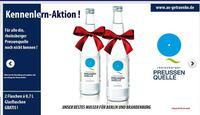 Zwei Flaschen Rheinsberger Preussenquelle gratis