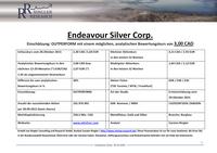 Ringler Research: Studie über Endeavour Silver veröffentlicht / Analytischer Bewertungskurs 3,00 CAD / 1,64  (+30% Kurspotenzial)