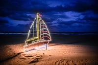 100 Miles of Lights: Virginia macht die Weihnachtsbeleuchtung an