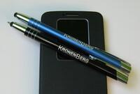 Kronenberg24 bietet Spezialkugelschreiber mit Gravur in Kleinmengen