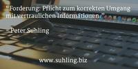 Datenschutz: Wenn der Chef die E-Mails mitliest