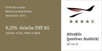 """KFM-Mittelstandsanleihen-Barometer - Die """"6,25%-SNP-Anleihe"""" (Update)"""