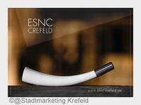 ESNC CREFELD (men):   Samt- und Seidenstadt legt kantiges Männerparfum im Design-Flakon auf