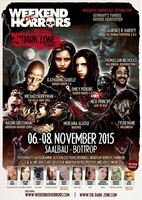 Horror convention Weekend of Horrors Bottrop 06.11.-08.11.2015