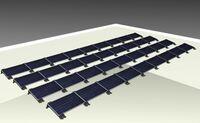 Oberösterreichische G.A.S.CAD ist auch am Solarflachdach mit dabei - zum Wohl der Umwelt