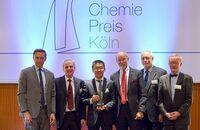 Deutscher Chemie-Preis Köln 2015: Personalarbeit bei Beiersdorf vorbildlich
