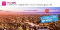 Auf Entdeckungsreise mit Telekom Mega-Deal: Pro-Version der Reiseführer-App City Maps 2Go geschenkt