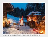 Von Herbergssuche bis Räuchertour: Bergadvent in Altenmarkt-Zauchensee