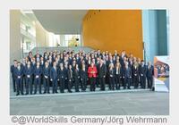 Bundeskanzlerin empfing deutsche Champions der Weltmeisterschaften der Berufe