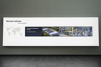 Interaktive Präsentation von Produktwelten