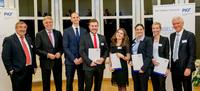 Absolventen der Universität Duisburg-Essen mit dem FASSELT Förderpreis 2015 ausgezeichnet