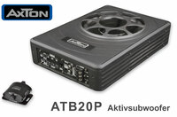 Bassupgrade für jedes Auto: Axtons Aktivsubwoofer ATB20P