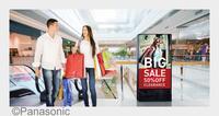 Neue Display-Serien von Panasonic steigern die Zuverlässigkeit von Digital Signage