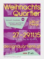 1.000 m² Design - das WeihnachtsQuartier im MQ