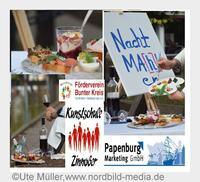 Nacht Ma[h]l-en: Essen & Kunst in Papenburg an der Ems