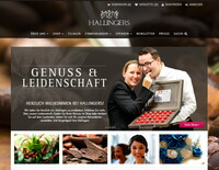 Genuss jetzt noch einfacher bestellen: Feinste Schokolade, Tee, Kaffee und Gewürze im neuen Online Shop von Hallingers Schokoladen Manufaktur
