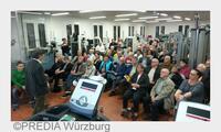 """Großes Interesse am Thema """"Herz und Sport"""" bei PREDIA in Würzburg"""