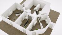 gKteso präsentiert 6D-Robotic-Couch dem Fachpublikum