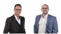 Bastian Vogelbacher und Thomas Marktanner, Gründer des Startups mySALESGUIDE GmbH