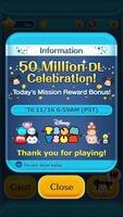 """Das Puzzle-Spiel """"LINE: Disney Tsum Tsum"""" feiert 50 Millionen Downloads weltweit"""