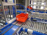 Finder setzt auf kurze Lagerdurchlaufzeiten mit Lösungen der AMI Förder- und Lagertechnik