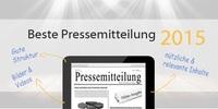 Wettbewerb: Die beste Online-Pressemitteilung 2015
