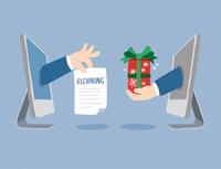 Das Christkind stürmt den Online-Handel