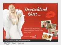 """""""Deutschland küsst"""" ... und tut Gutes!  Janine Kunze und FotoPremio suchen das schönste Kuss-Foto"""