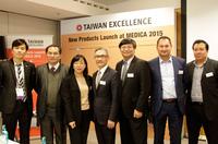 Medica 2015 Düsseldorf: Taiwan präsentiert neueste Produkt- und Technologie-Innovationen