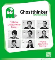 10 Jahre Ghostthinker GmbH!