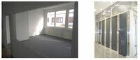 Auf 20 Quadratmetern wird aus einem Besprechungszimmer ein Serverraum