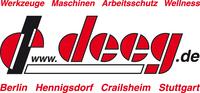 deeg - Von Werkzeugen bis Maschinen ist alles dabei!