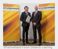 Studienpreis DistancE-Learning 2016 für Manfred Haas von der Wilhelm Büchner Hochschule