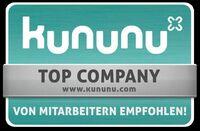Aagon erhält Gütesiegel Top Company von kununu.com