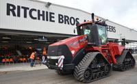 Landtechnik-Auktion in Meppen stellt eigenen Rekord ein