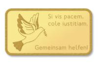 Goldinvest mit Spende für Flüchtlinge