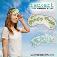 Schlafmasken von reckertwohnen.de sorgen für entspannte Nächte