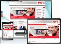 Modern, übersichtlich und für Mobilgeräte optimiert - so präsentiert sich die GTÜ nach ihrem Relaunch im Internet